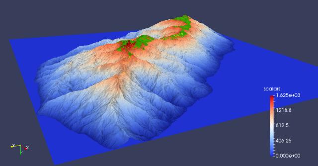 Mount Panié - Kauri