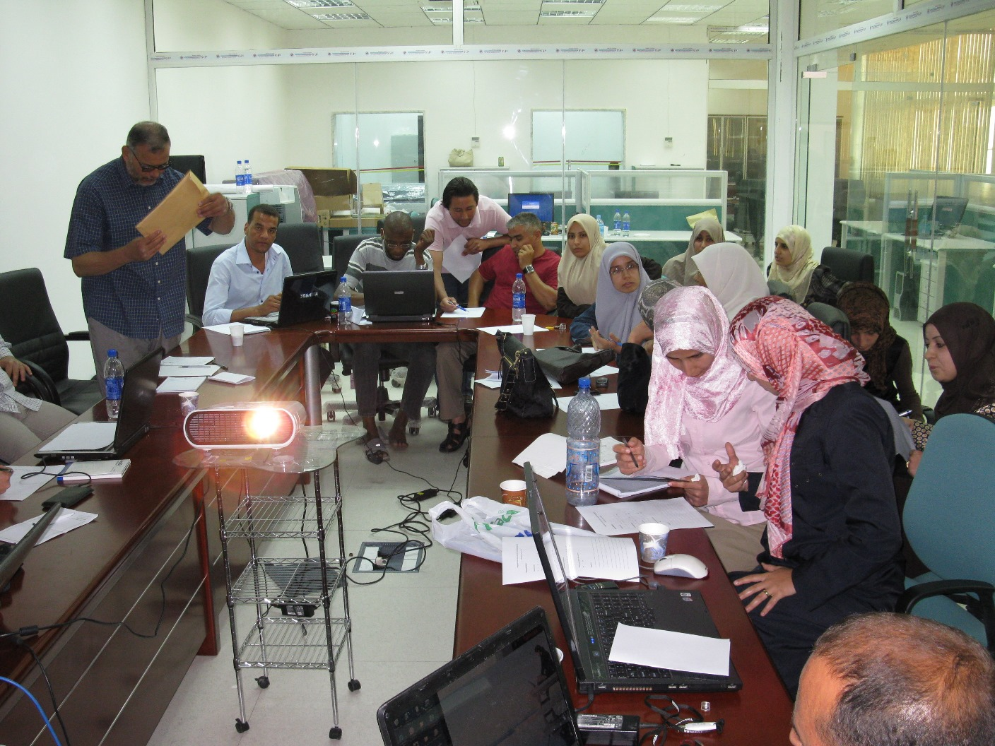GIS and Remote Sensing training, Tripoli, 2009